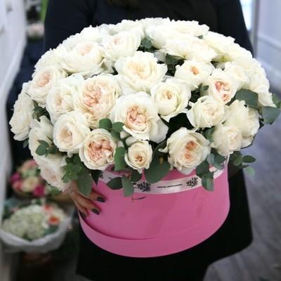 Коробка роз премиум
