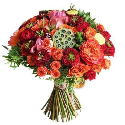 Экзотика и пионовидные розы