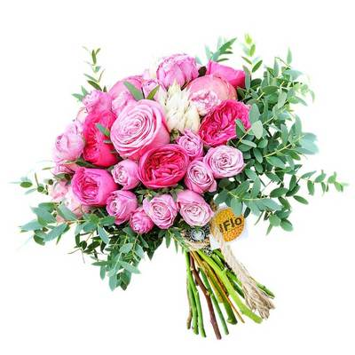 Пионы и пионовидные розы