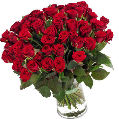 Красных роз букет